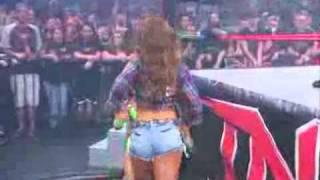 Sarita Vs Mickie James (Rematch)