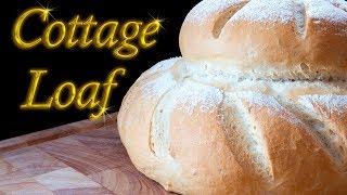 Cottage loaf made easy at home