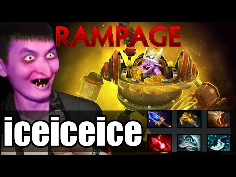 PLAYER PERSPECTIVE: iceiceice (Timbersaw) [Dota 2 Asia Championships 2017]