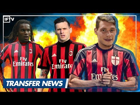 """BELOTTI / KALINIC + RENATO SANCHES TO AC MILAN"" • Serie A Transfer News"