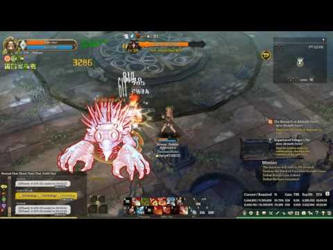 Tree of Savior - Quarrel Shooter C3 Fletcher C3 gameplay solo Siauliai