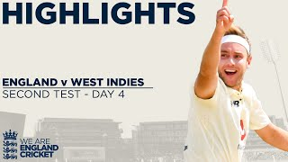 Day 4 Highlights | Broad Takes 3 Wickets In 14 Balls! | England v West Indies 2nd Test 2020