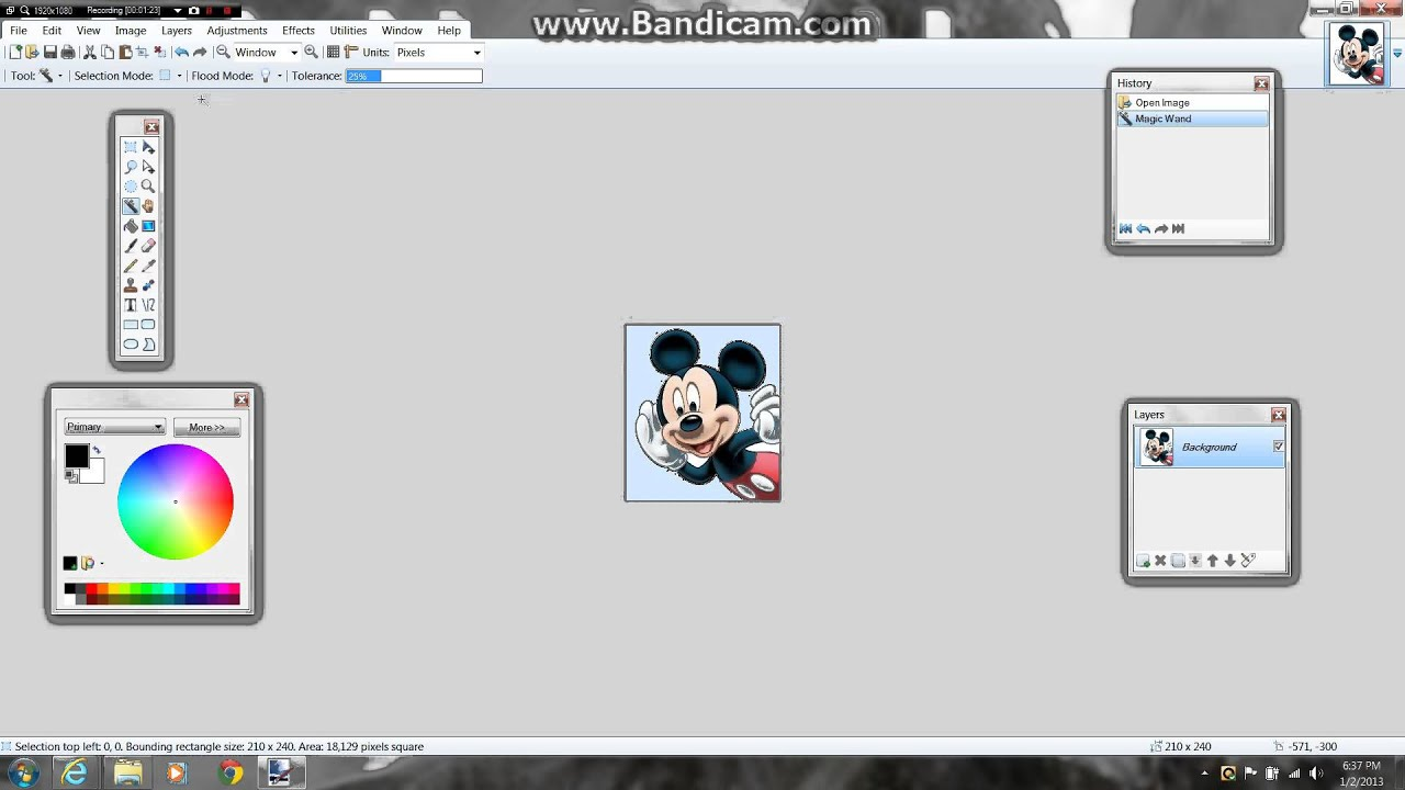 How To Make An Invisible Background In Paint Commentary 1080p