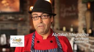 7th Annual Comfort Food Classic: Abdallah Meghzaze, Ryan