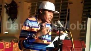 Vybz Kartel UWI Lecture - Part 1 Who Is Adidja Palmer? March 10, 2011 - [Video By: DancehallMobi]
