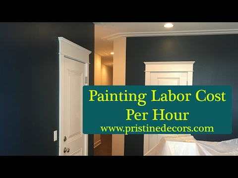 Painting Labor Cost Per Hour