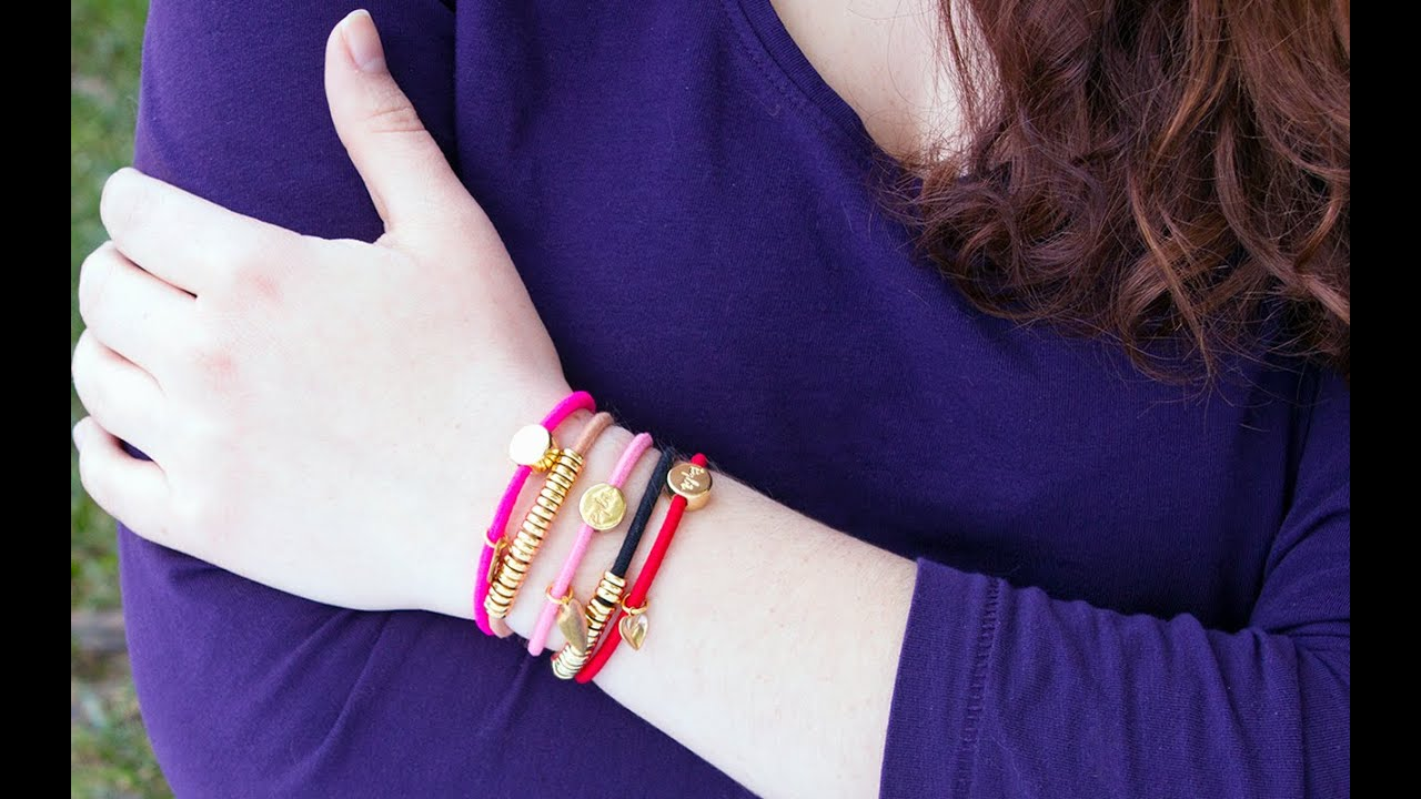 A bracelet for your hair  How charming. - YouTube cfdd0de9aad