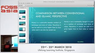 Understanding Bitcoins: Perceptions and Islamic Perspective  - Tahir Mumtaz Awan - FOSSASIA 2018