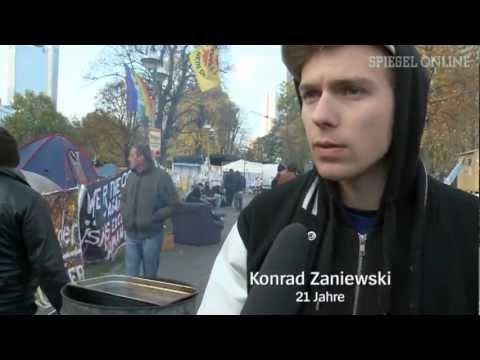Occupy-Camp Frankfurt: Wo Banker auf Besetzer treffen - SPIEGEL TV