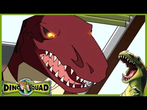 Dino Squad -  T-Rex Formation | HD Full Episode Dino Squad | Dinosaur Cartoons for children