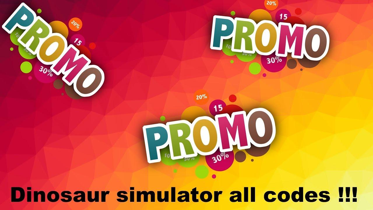 Roblox Dinosaur simulator all promo codes ! [Tutorial ...
