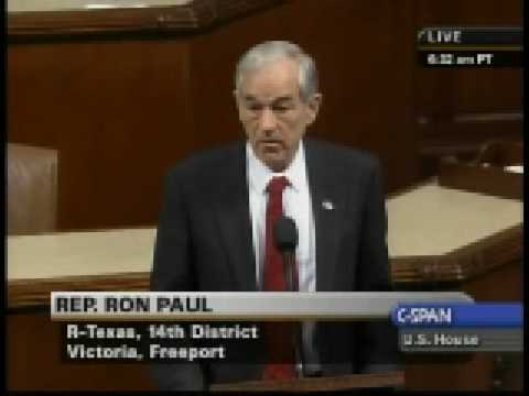 Congressman Ron Paul Fiercely Against House Support For Israel Attack On Gaza