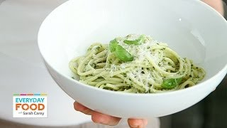Classic Basil Pesto Recipe - Everyday Food With Sarah Carey