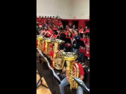 Trent Middle School Band - Fall Pep Rally 2018