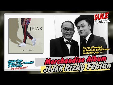 Unboxing Merchandise album Jejak Rizky Febian