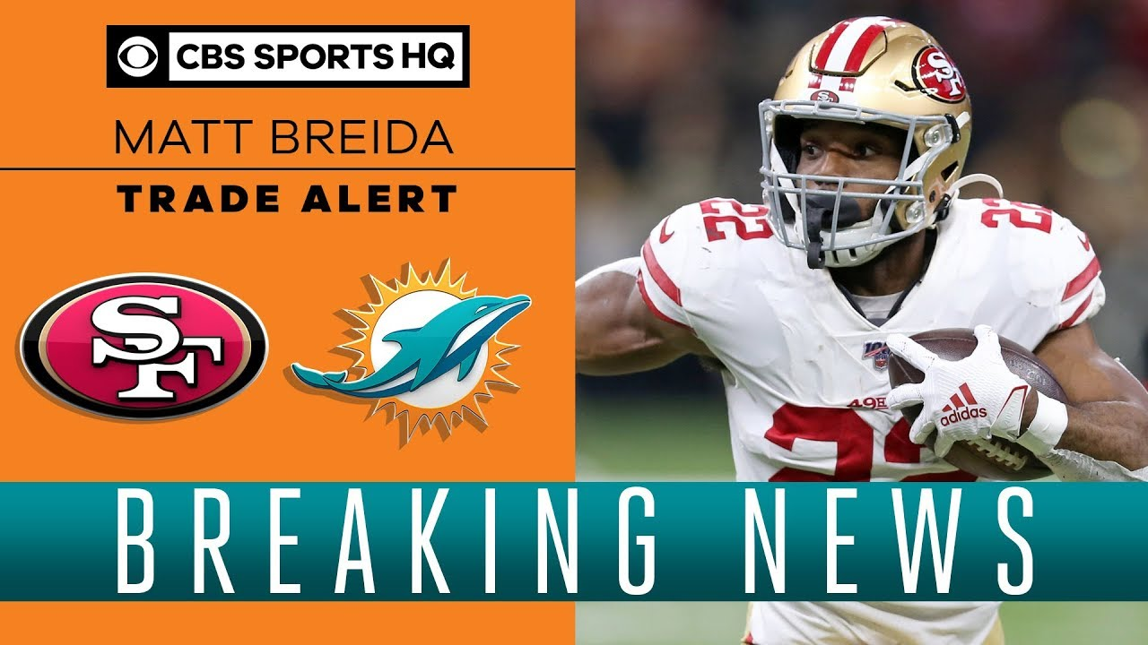 NFL News: San Francisco 49ers Trade Matt Breida To The Dolphins