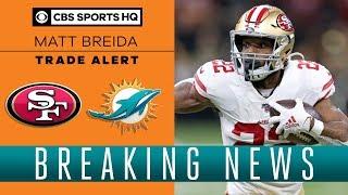 Matt Breida TRADED to the Dolphins by 49ers | 2020 NFL Draft