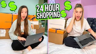 24 Hour Online Shopping Challenge
