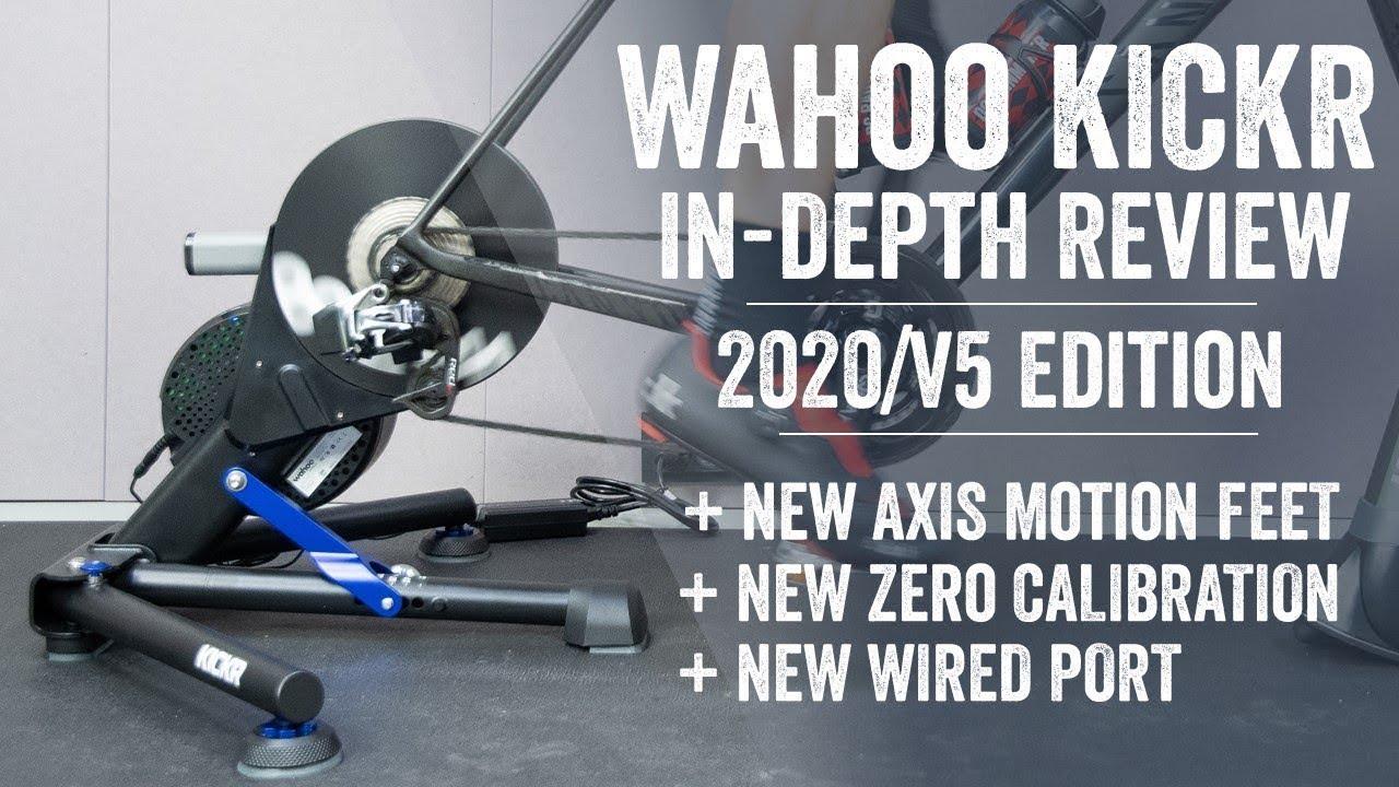 Brand new 2020 Wahoo Gen 5 KICKR AXIS Indoor bicycle bike cycling Smart Trainer