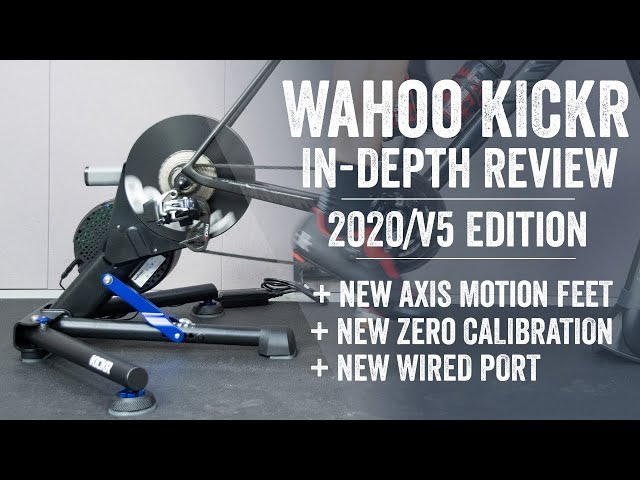 Wahoo KICKR In-Depth Review - 2020/V5 Edition // Accuracy, AXIS, Complete Testing!