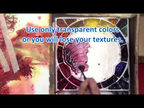 Preview | Watercolor Making Your Mark, Part 7 with Karlyn Holman