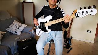 Michael Jackson Beat it (bass cover) - Squier Contemporary Jazz bass active HH