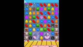 Candy Crush Saga Level 377 iPhone No Boosts