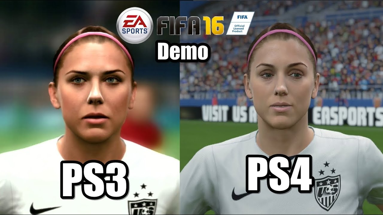fifa 16 ps3 vs ps4 comparison gameplay faces graphics. Black Bedroom Furniture Sets. Home Design Ideas