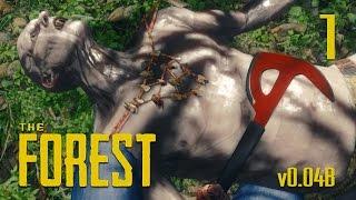 SON OF A BEACH - The Forest Gameplay Walkthrough Part 1 - (Alpha v0.04B)