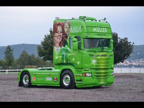 """Scania R 520 """"ABBA"""" Müller Ermensee"""