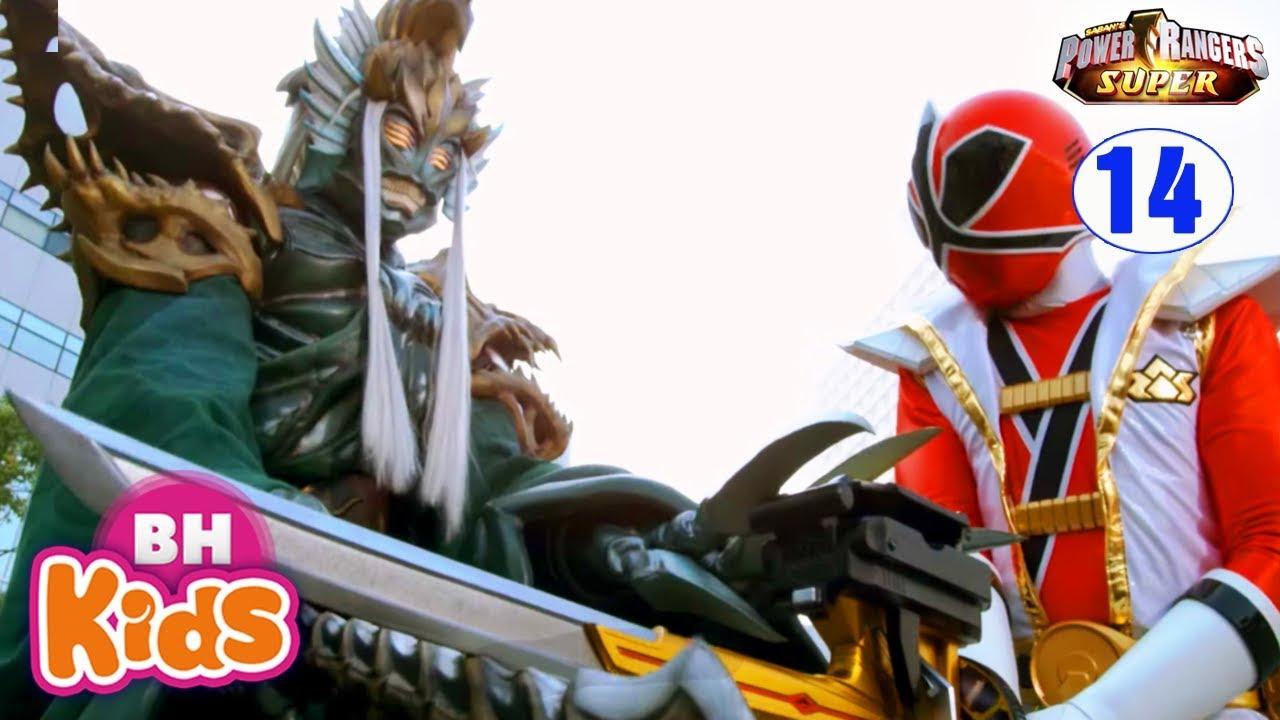Siêu Nhân Thần Kiếm Phần 3 - Tập 14: Nhát Chém Cuối Cùng - Phim Siêu Nhân SUPER SAMURAI