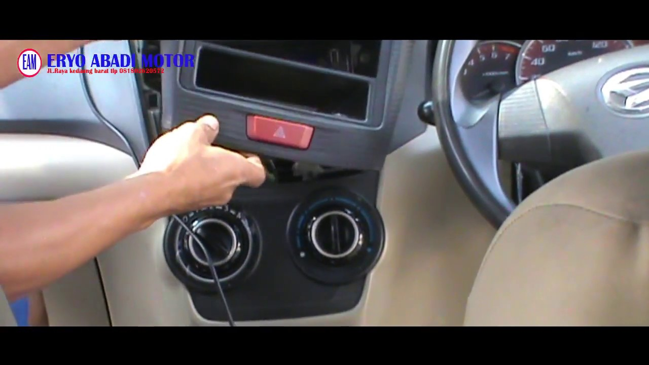 dashboard grand new avanza all 2019 bongkar dasbor velos untuk service ac youtube