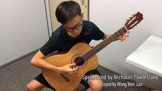 Wen Jian performs Spellbound by Nicholas Powlesland