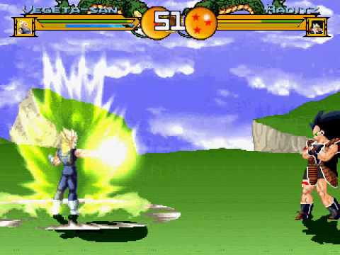 Dragon Ball Z Ultimate M.U.G.E.N. Gameplay (2011) By Dbzgokusan77 & Roborn68