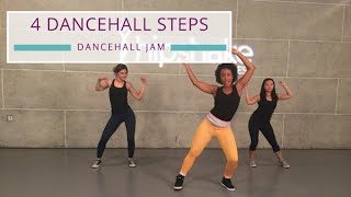 Learn 4 Dancehall Workout Steps | Dancehall Tutorial For Beginners