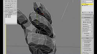 5 Weighting (ВИДЕОУРОКИ; 3ds Max; 3D Modeling; 3D Моделирование)