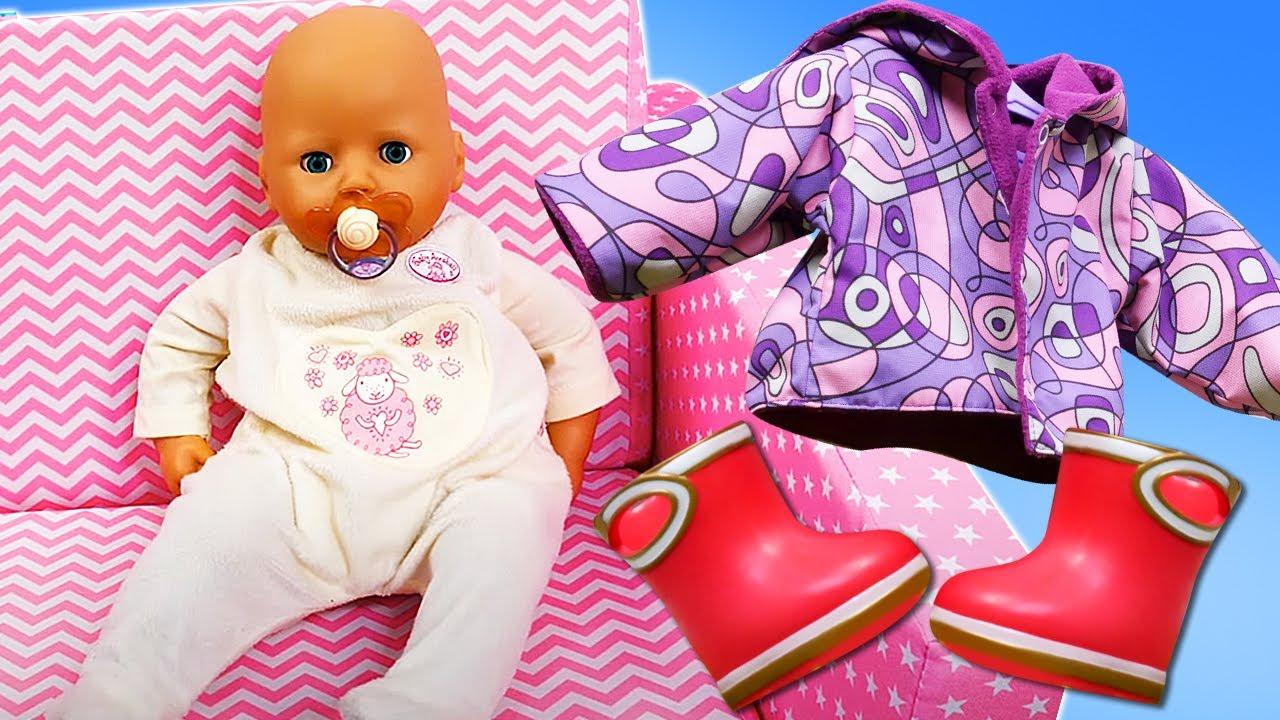 ¡La nueva Ropa de muñecas! Como mamá. Baby Born en español