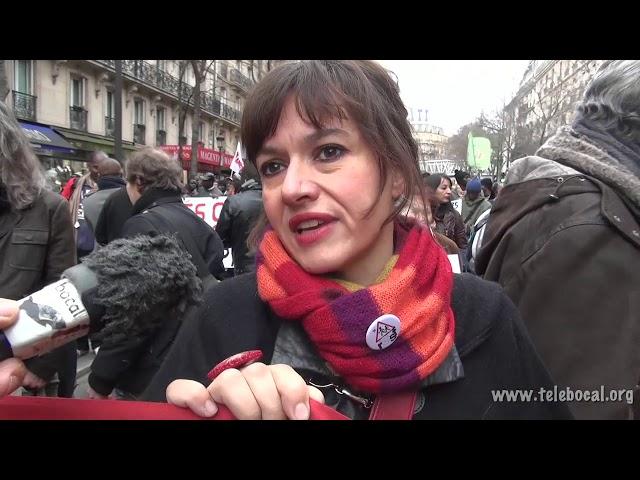 Manifestation pour les migrants & contre l'état d'urgence - Décembre 2015