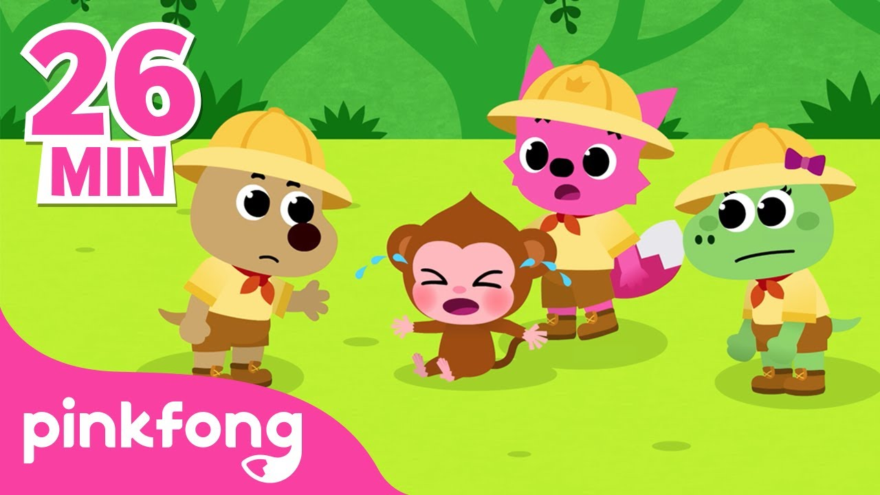 Best Animal Stories for Children | +Playlist | Pinkfong Animal Songs | Pinkfong Songs for Children