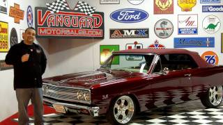 1965 Chevelle SS Convertible Classic Muscle Car for Sale in MI Vanguard Motor Sales