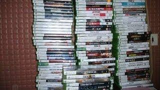 Мои диски на Xbox 360 за последнее время