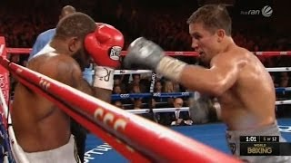 Box-talent Golovkin: Gennady Golovkin Vs Curtis Stevens