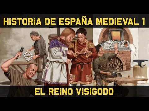 ESPAÑA 2: Edad Media (1ª parte) - El Reino Visigodo