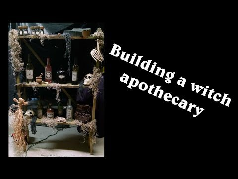 Building a witch apothecary - YouTube