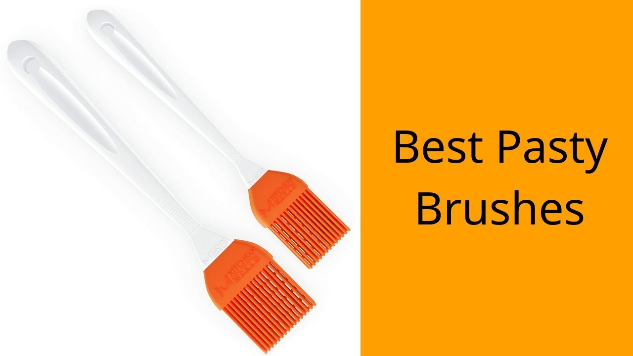 Carlisle 4038000 Sparta Round Basting//Pastry Brush with Boar Bristles 1/""