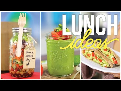Creative, Healthy Lunch Ideas for School & Work!