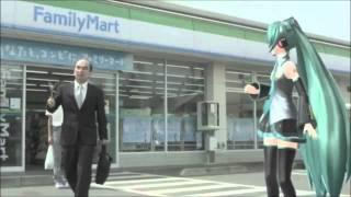 Pub Family Mart (+ problème de tournage)