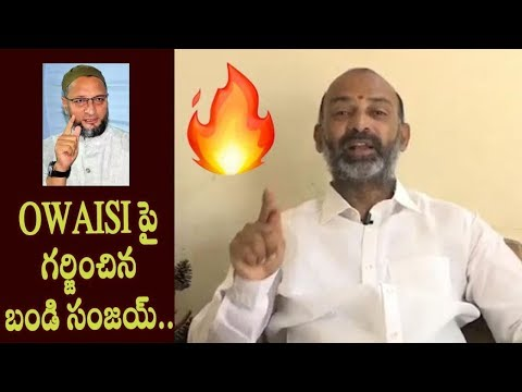 Bandi Sanjay Sensational Counter to Owaisi on Nizamuddin Markaz|Dr.RK Goud| TFCCLIVE