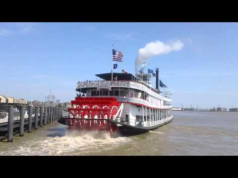 Mississippi River Natchez Steamboat Cruise New Orleans USA