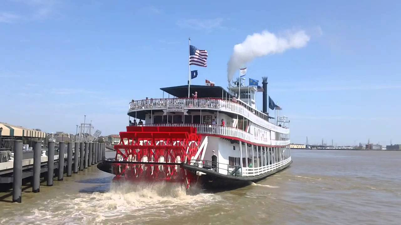 Mississippi River Natchez Steamboat Cruise New Orleans USA  YouTube